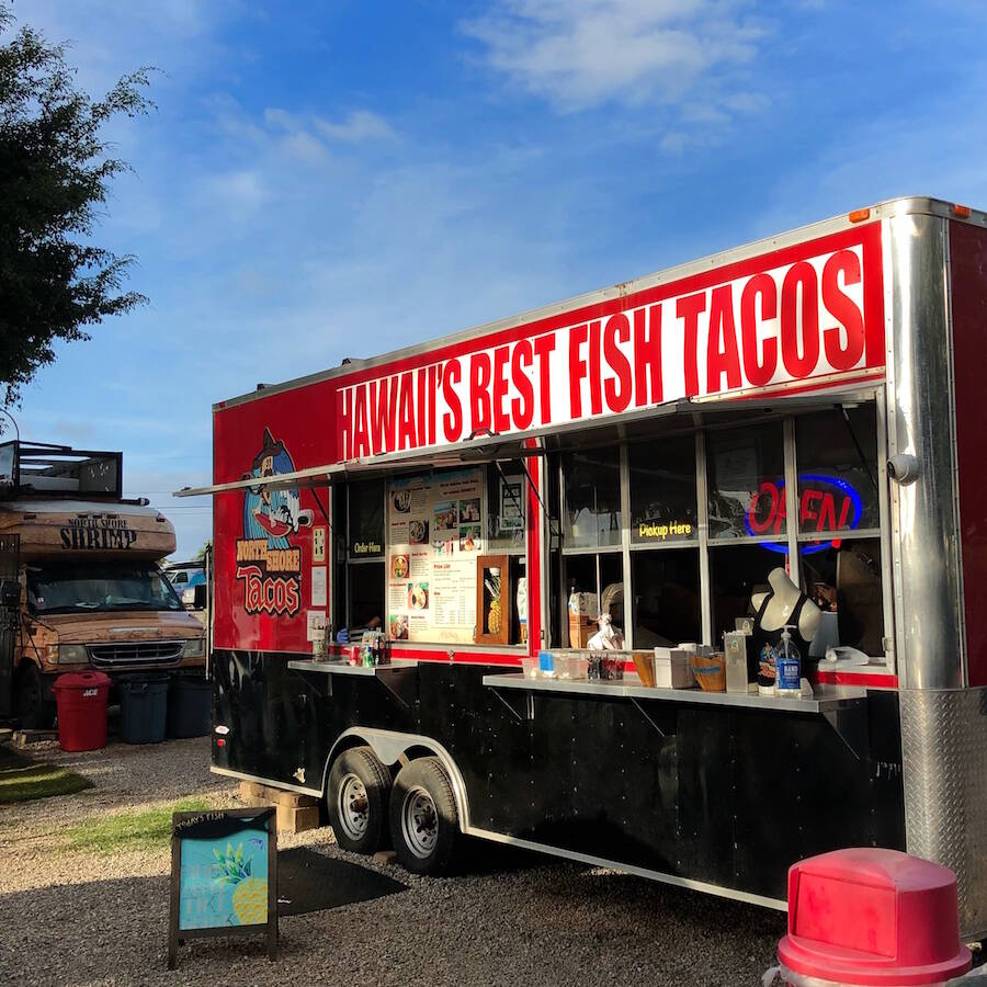 Sharks Cove Food Trucks North Shore Oahu