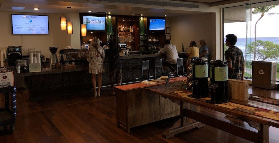 Turtle Bay Resort Lobby Bar