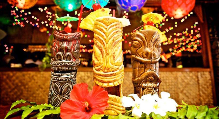 Tiki Mugs Honolulu Waikiki Oahu