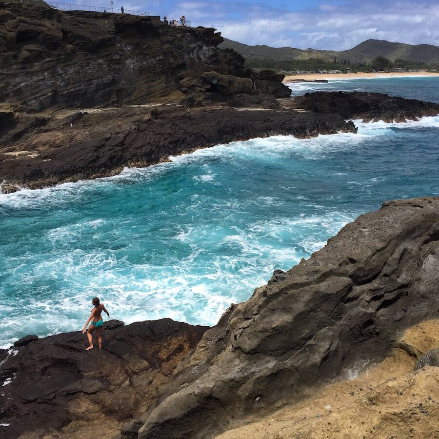 From Here to Eternity Beach Cliffs