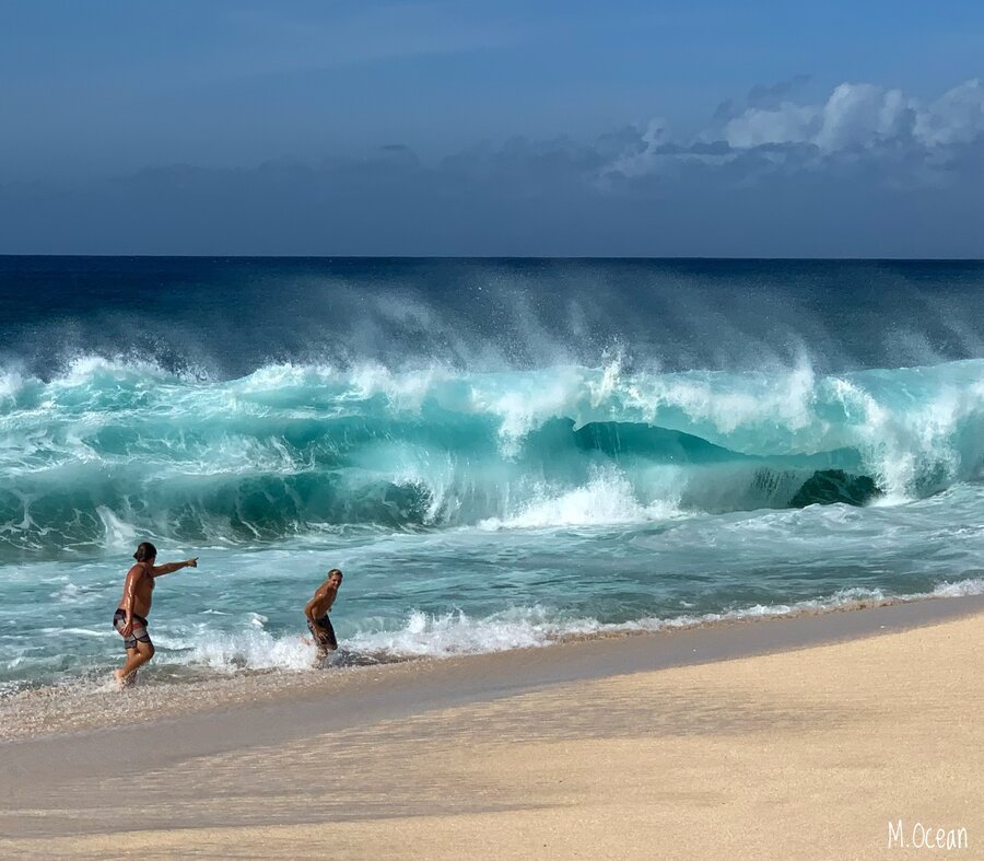 Ke Iki Beach Waves - Keiki Beach Shorebreak