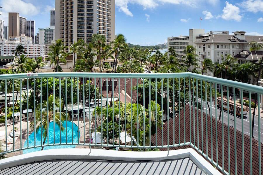 Sheraton Princess Kaiulani Hotel in Waikiki Beach