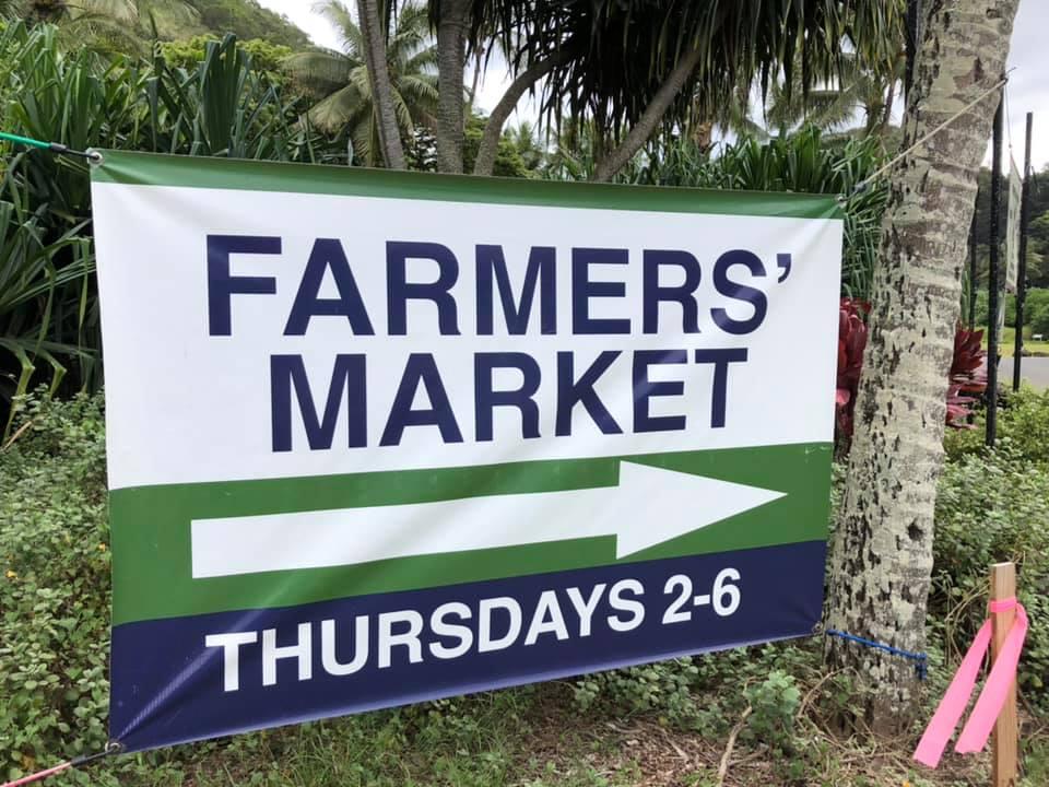 Haleiwa Farmers Market Waimea Valley