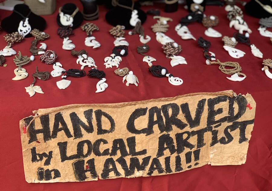 hand carved hawaiian necklaces