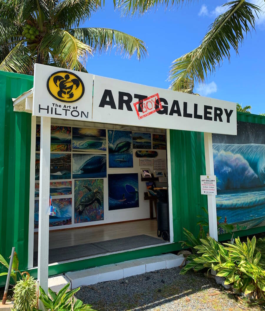 The Art of Hilton Art Box Gallery