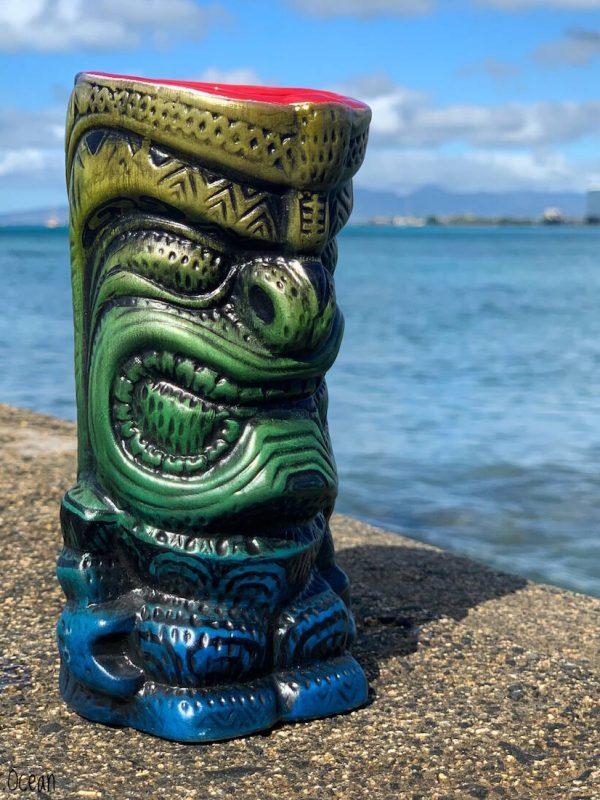 Tiki Mugs Honolulu Oahu Waikiki